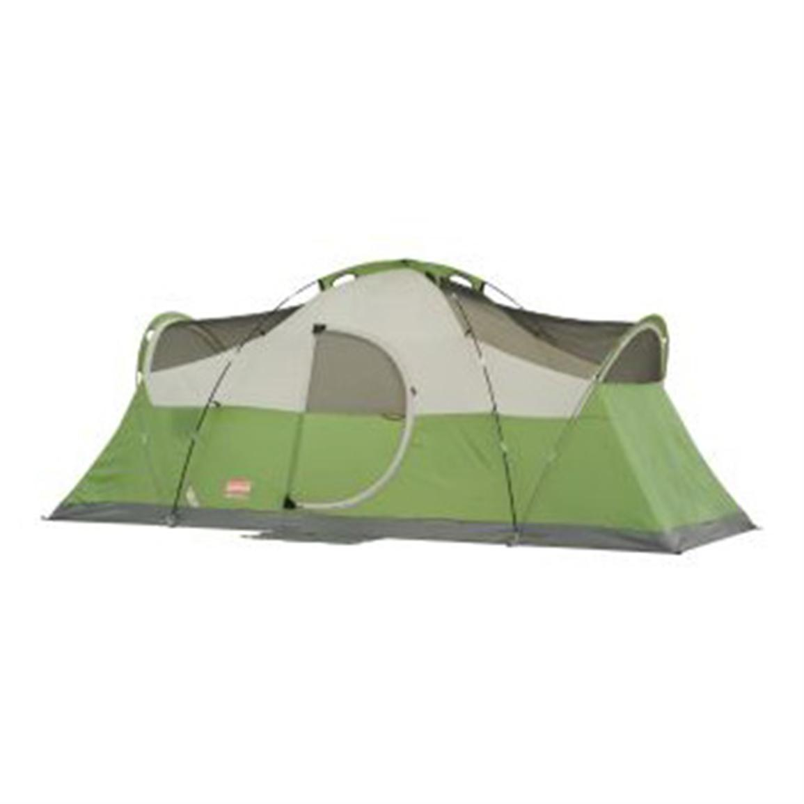 how to put up a coleman tent
