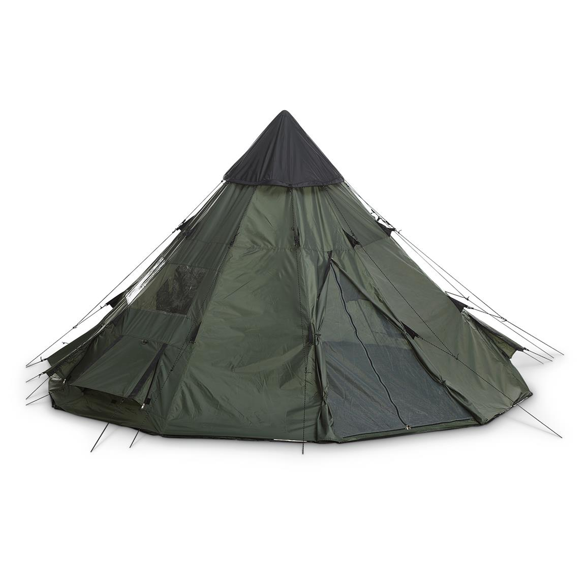 Guide Gear Teepee Tent 10 foot x 10 foot