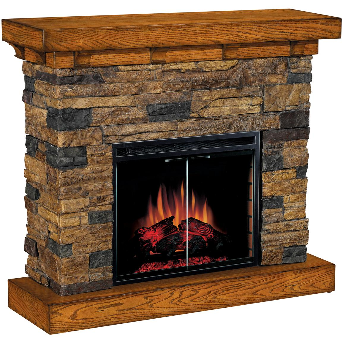 Classic Flame™ Flagstone Electric Fireplace - 175732 ...