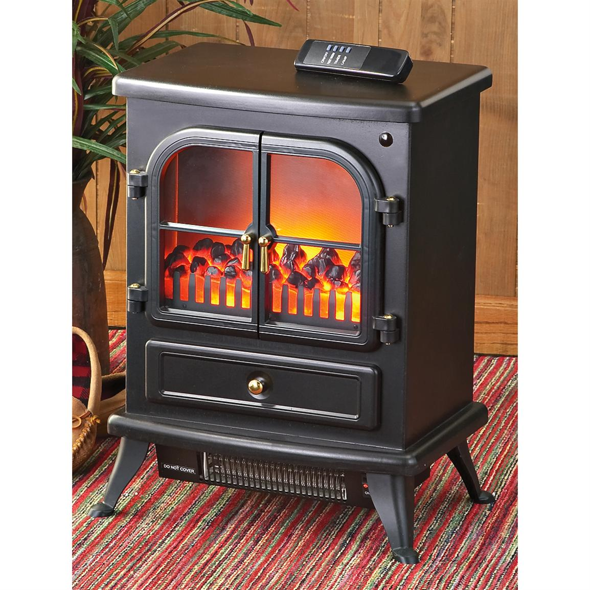 Electric Fireplace With Remote 175914 Fireplaces At Sportsman 39 S Guide
