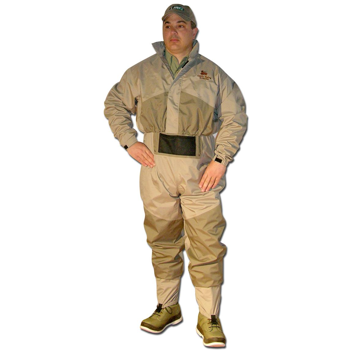 Caddis® Deluxe Waders with Jacket