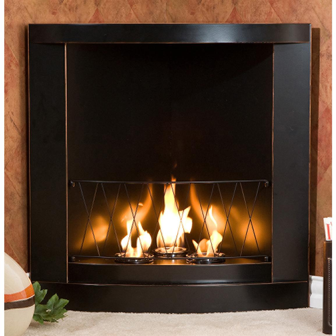 Southern Enterprises Inc Gel Fuel Corner Fireplace 176138 Fireplaces At Sportsman 39 S Guide
