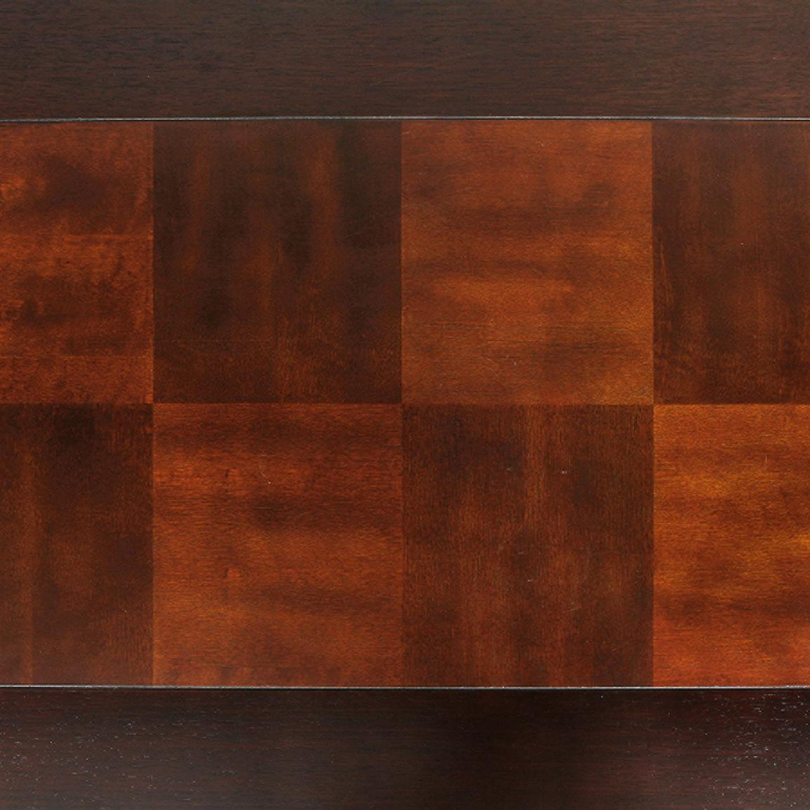 Beautifully stained espresso top
