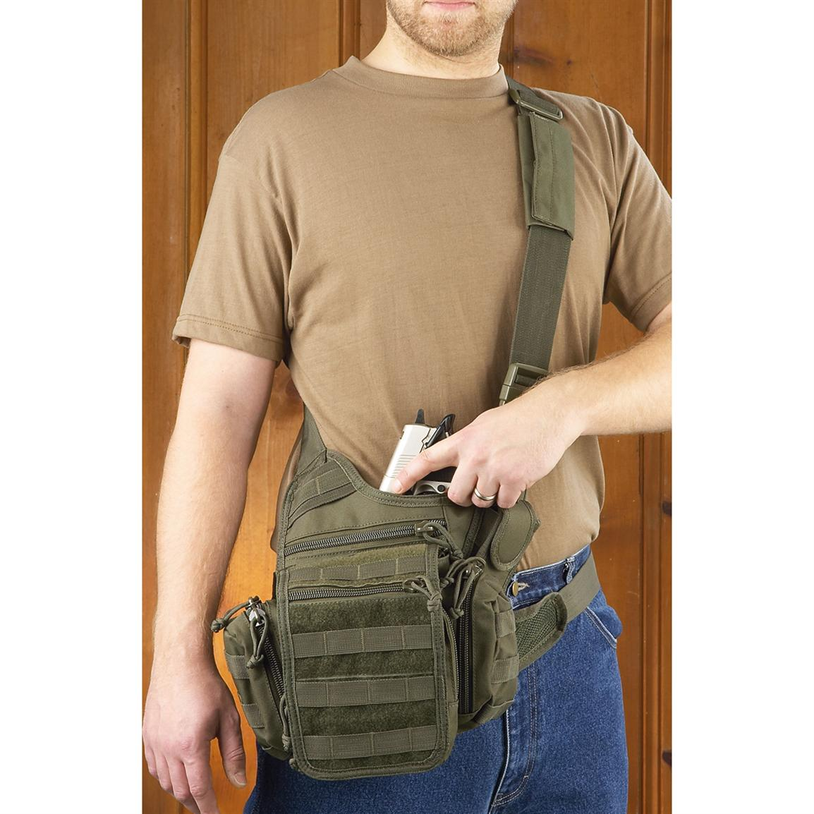 Voodoo Tactical™ Ergo Pack, Olive Drab