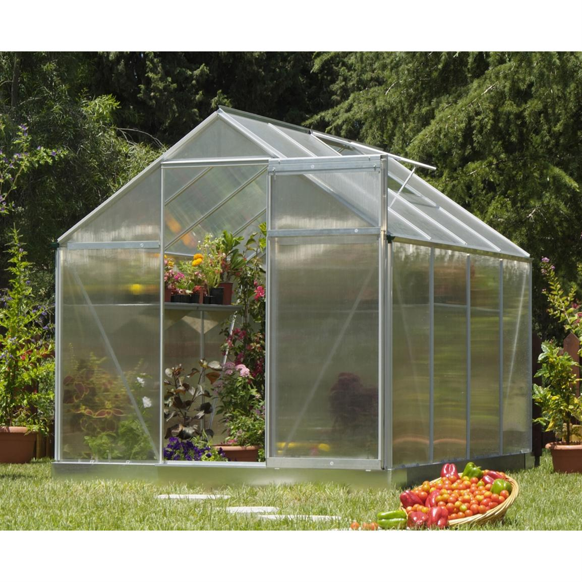 Poly-Tex® Multi Line 6x8' Hobby Greenhouse