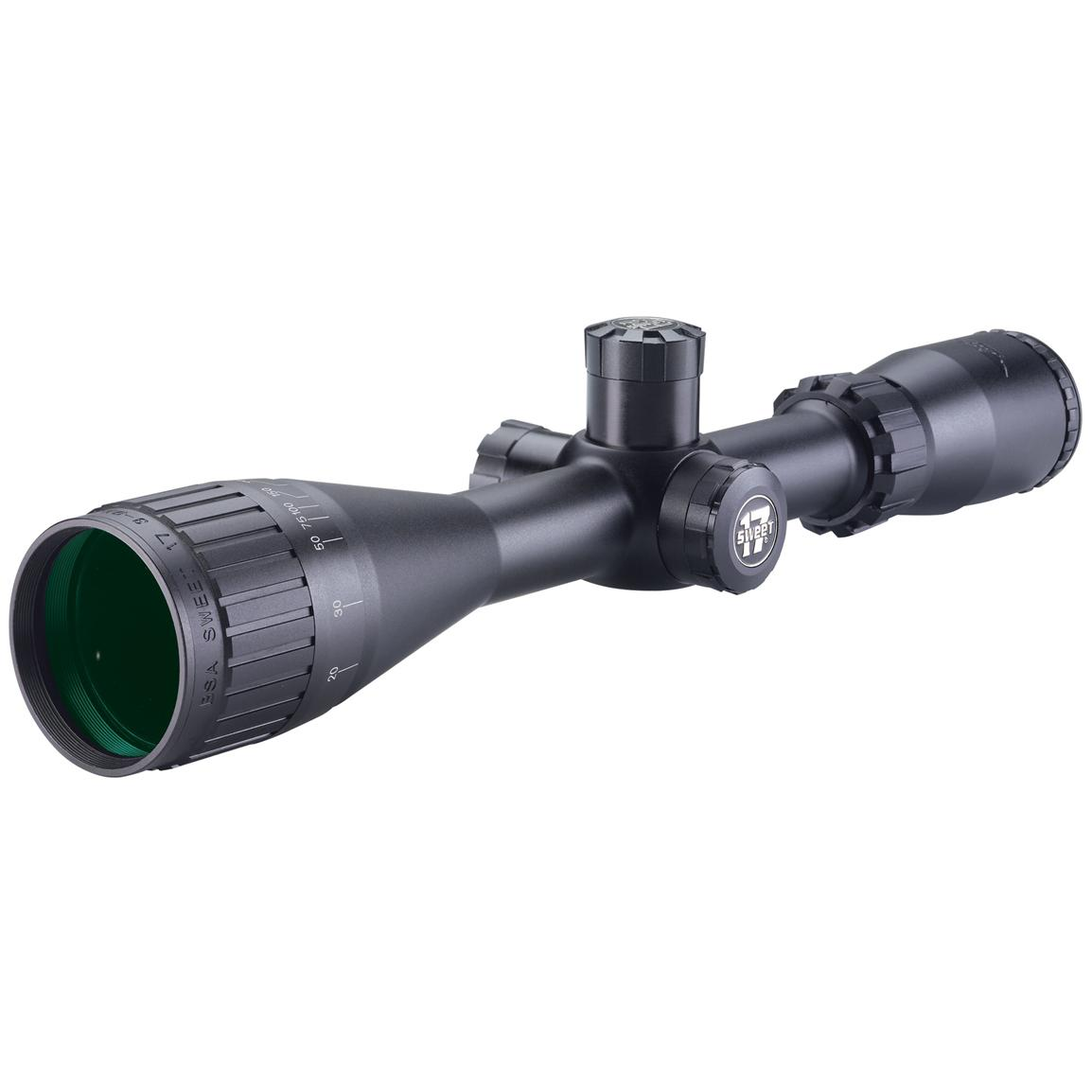 BSA Optics® 3-9x40 Sweet 17 Riflescope with Illuminated RGB