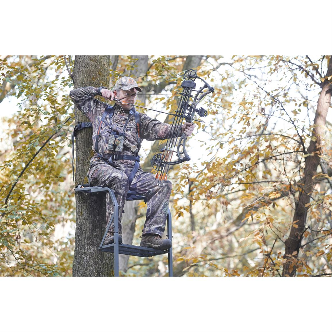 Guide Gear 15 Ladder Tree Stand 177428 Ladder Tree