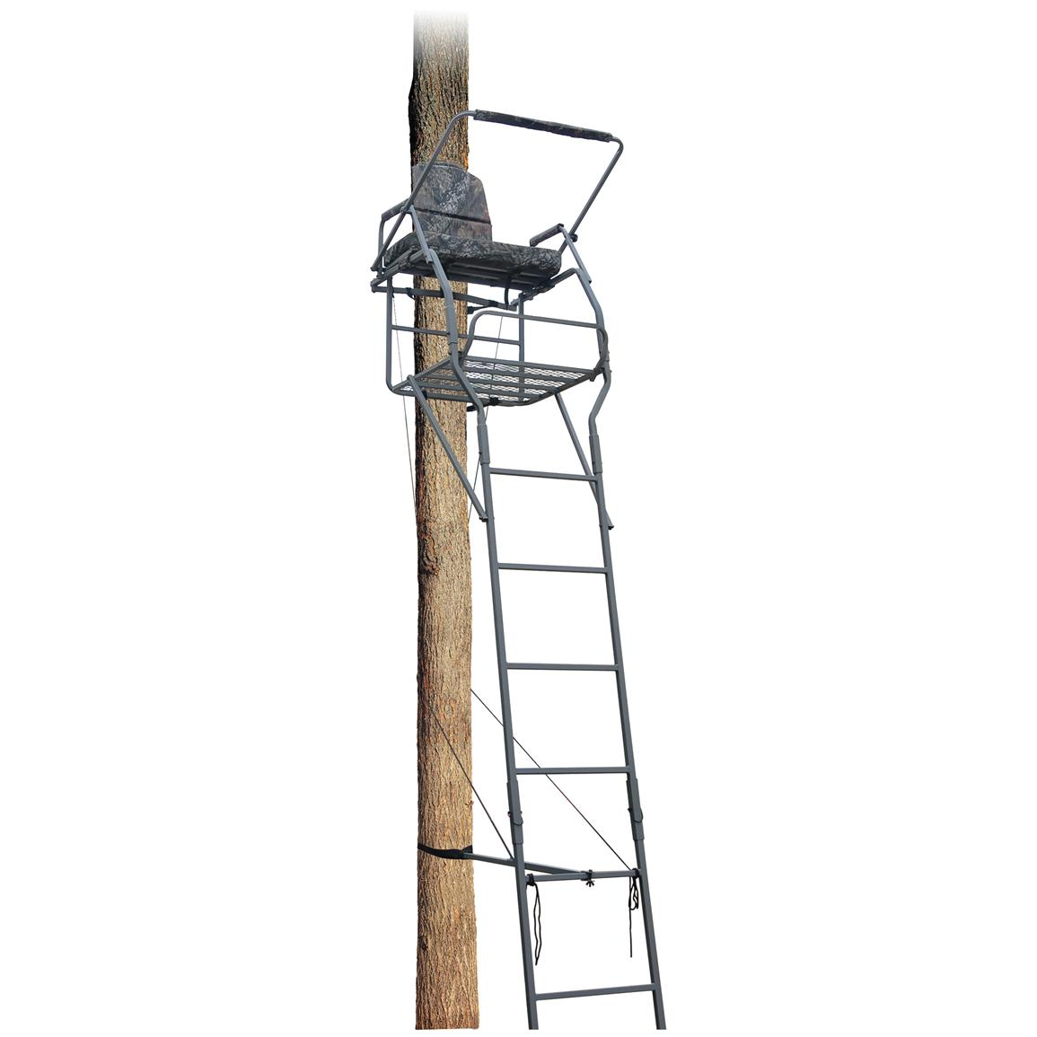 Guide Gear 18 foot Jumbo Ladder Tree Stand