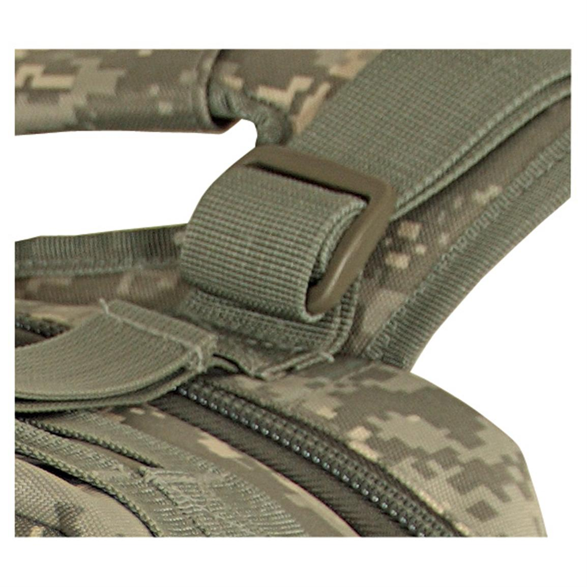 Includes additional straps so you can ad your Voodoo Tactical Drag Bag to the pack