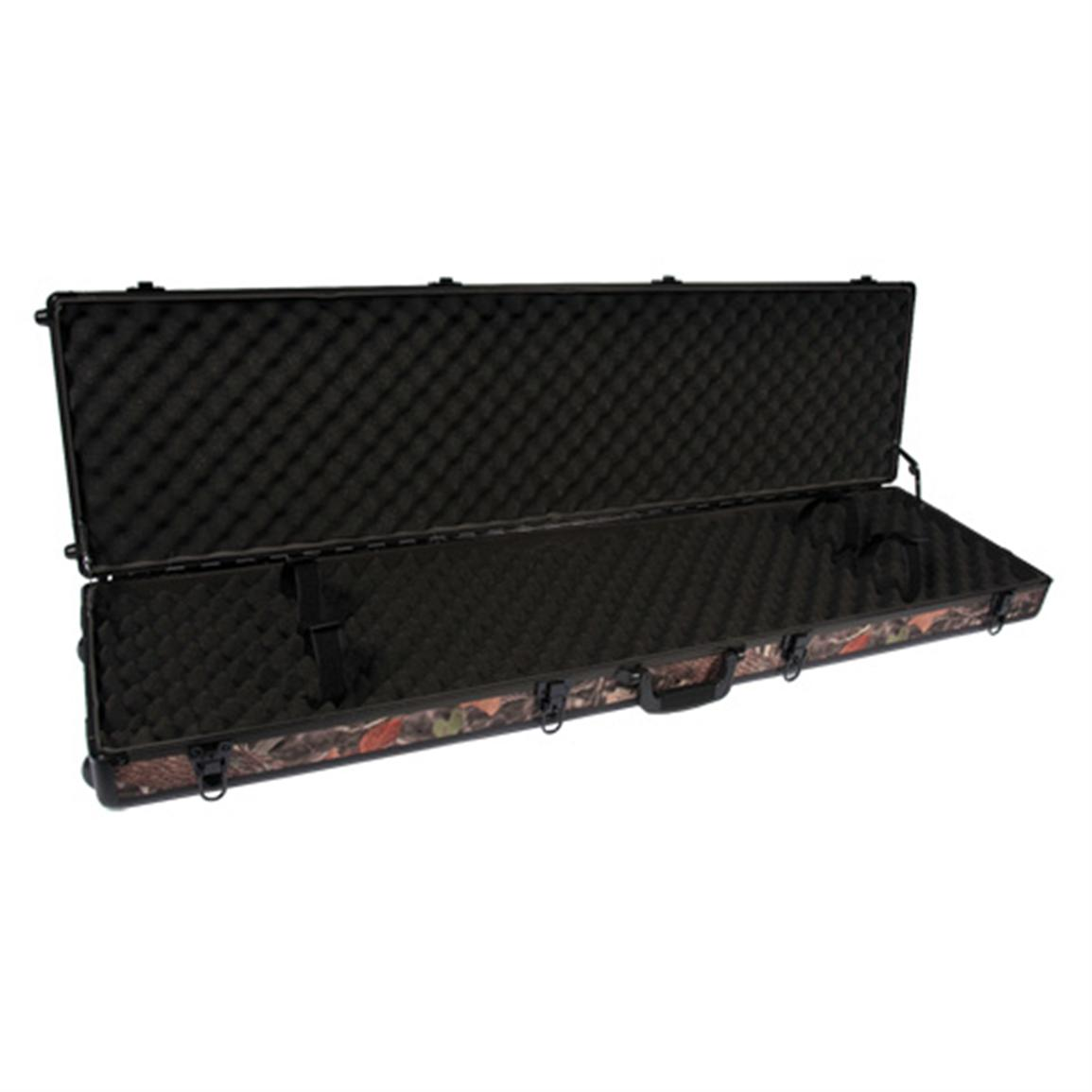 SportLock® CamoLock Double Rifle Case with Wheels