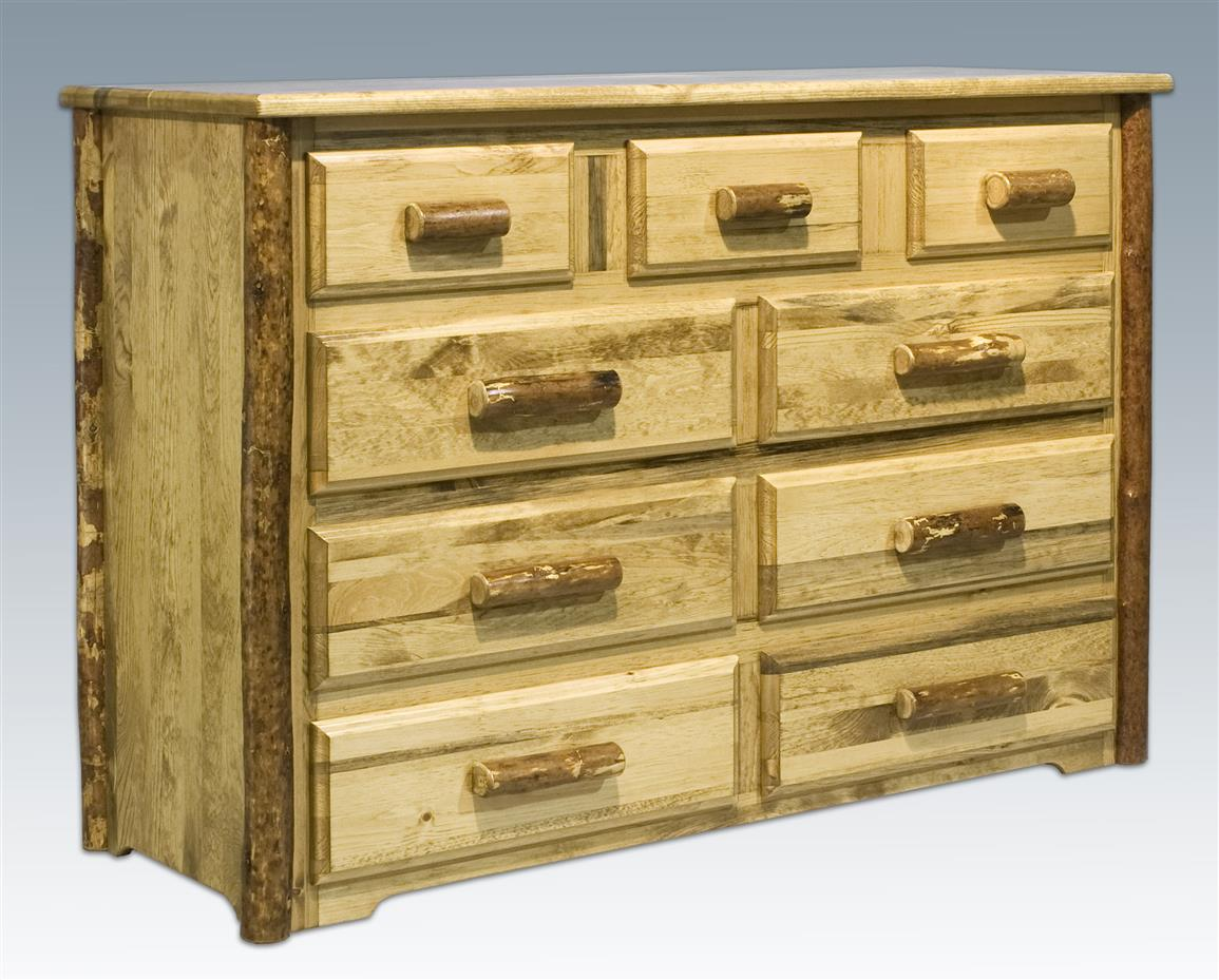 Montana Woodworks® Glacier Country 9-drawer Chest