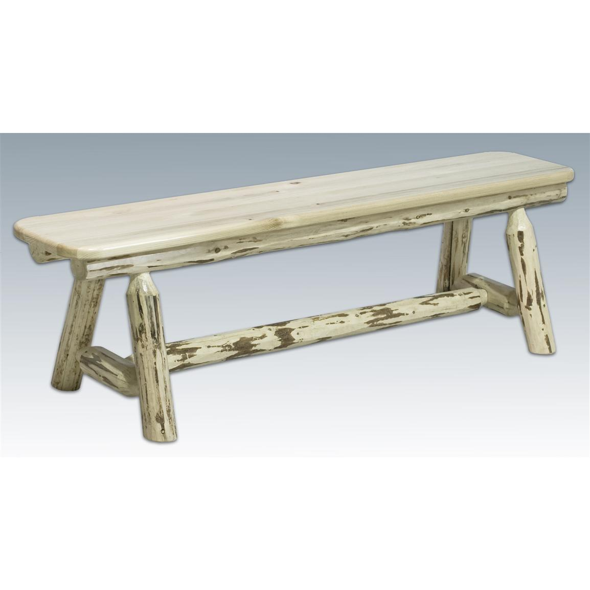 Montana Woodworks® Plank Bench