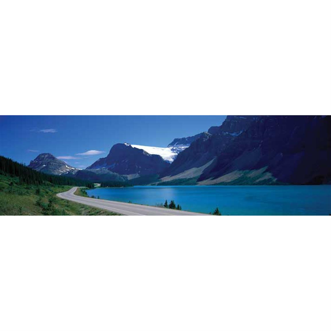 Vantage Point Concepts® Road Along Bow Lake in Alberta National Geographic Window Graphics