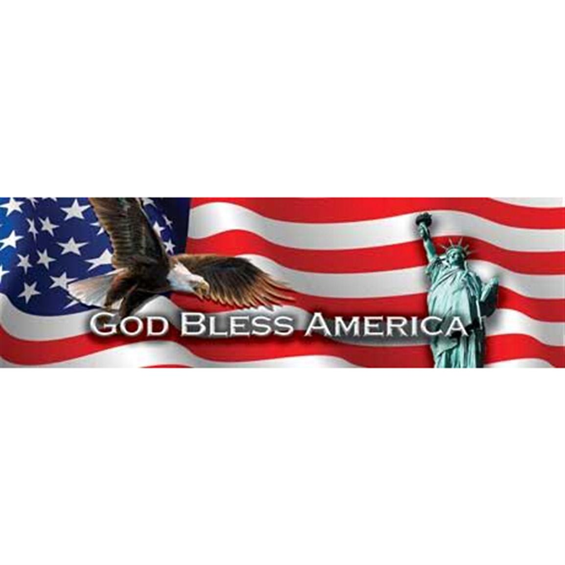 Vantage Point Concepts God Bless America Original Series Window Graphics