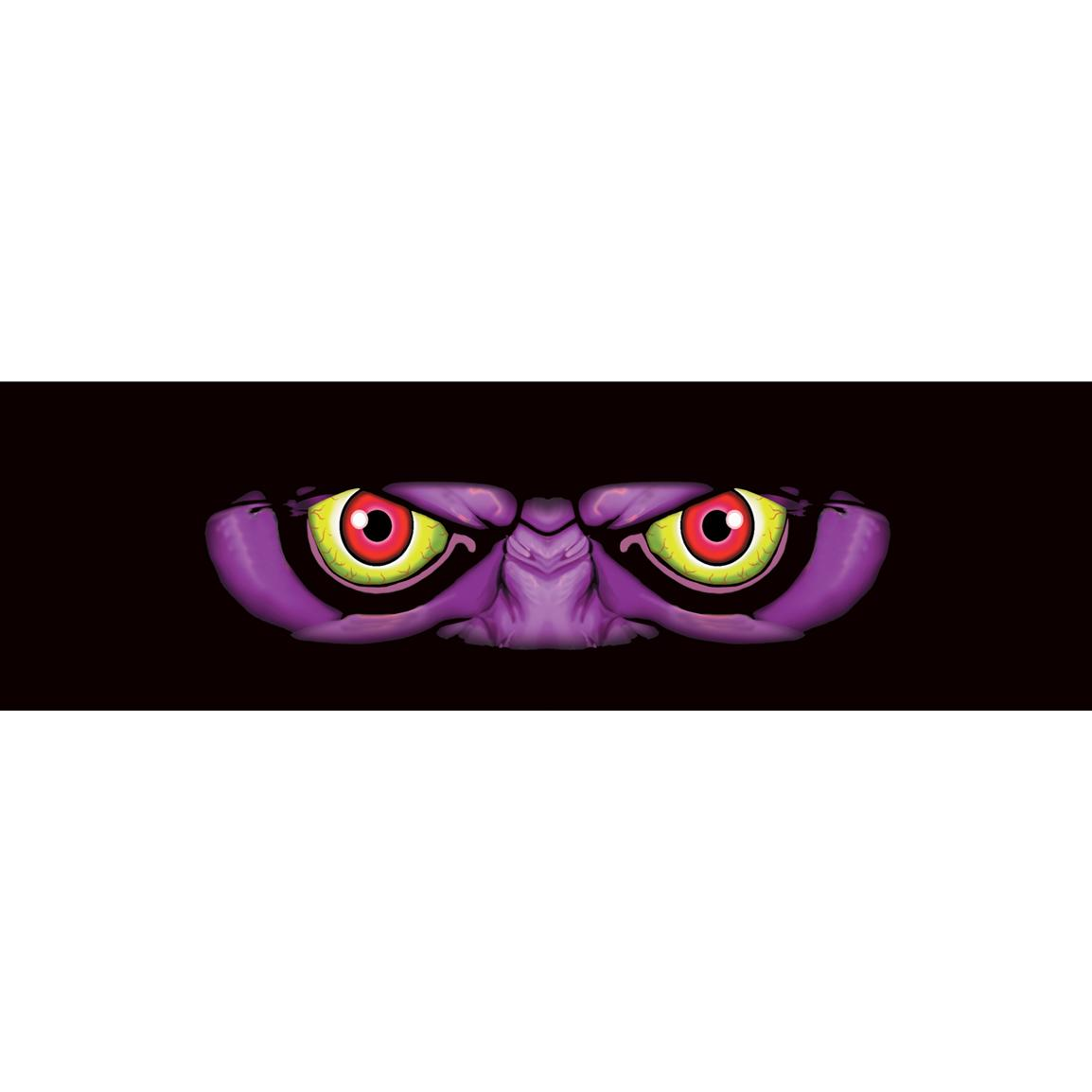 Vantage Point Concepts Monster Original Series Window Graphics, Purple