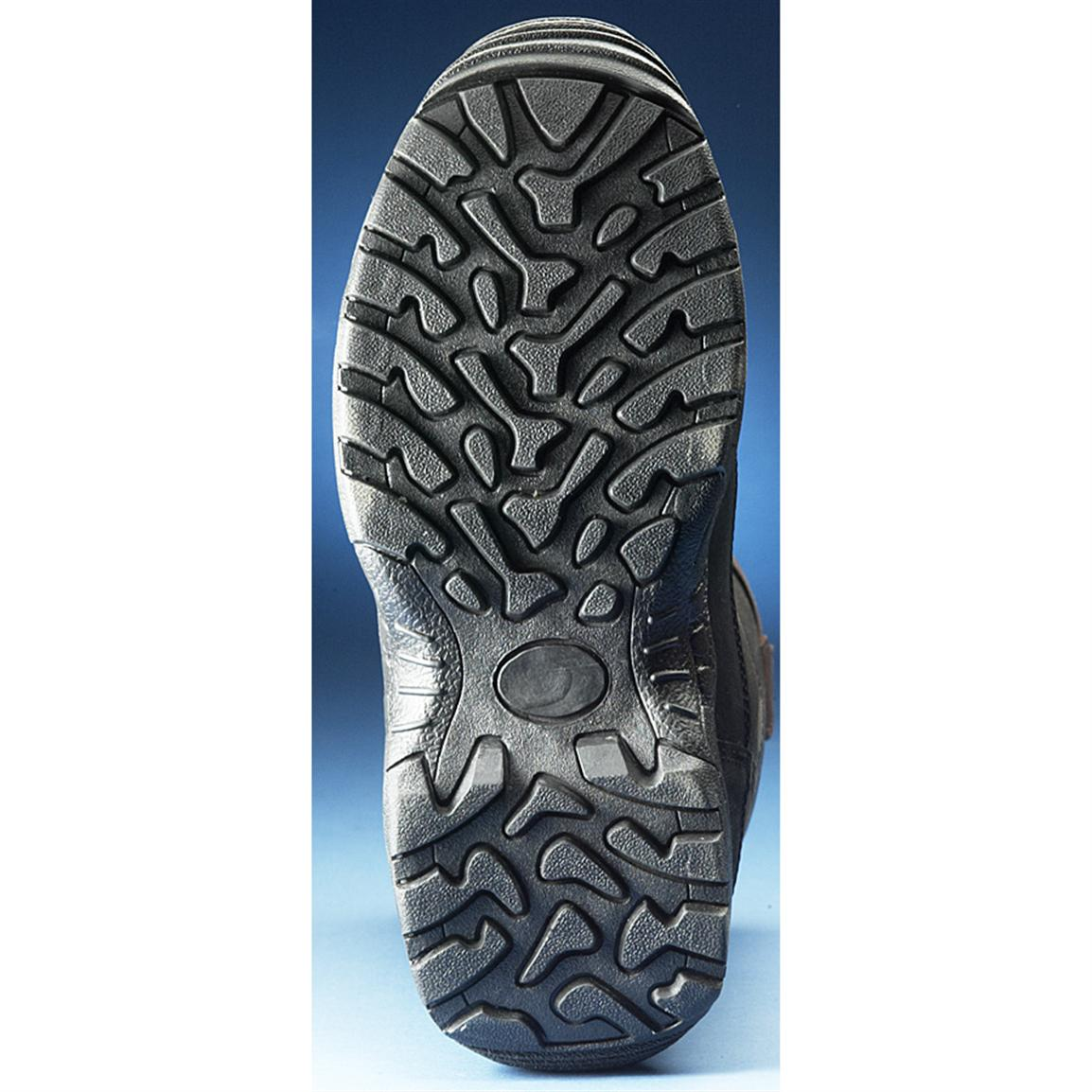 Sure-grip rubber outsole provides terrain-grabbing traction