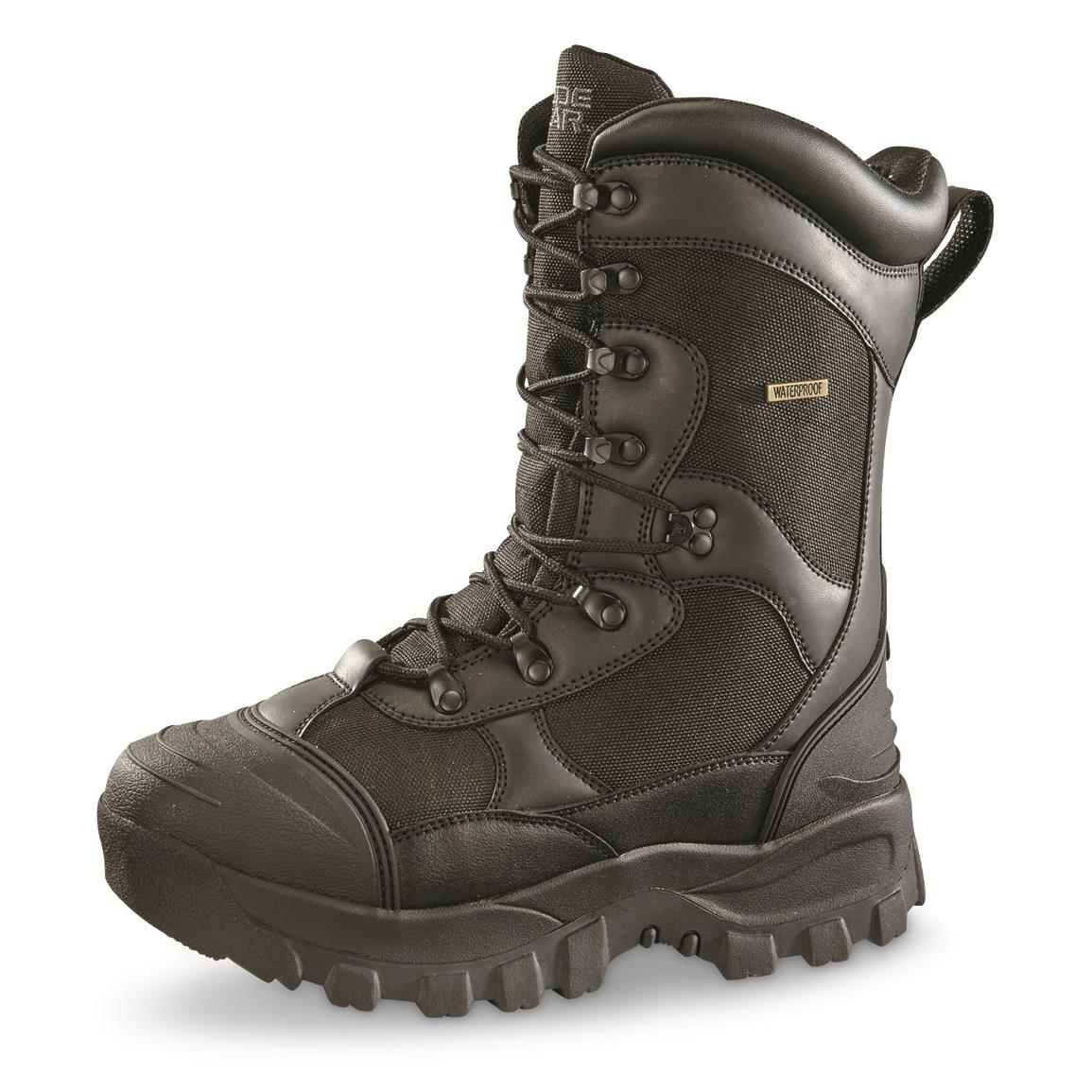 Guide Gear Men's Monolithic Hunting Boots, Insulated, Waterproof, Black