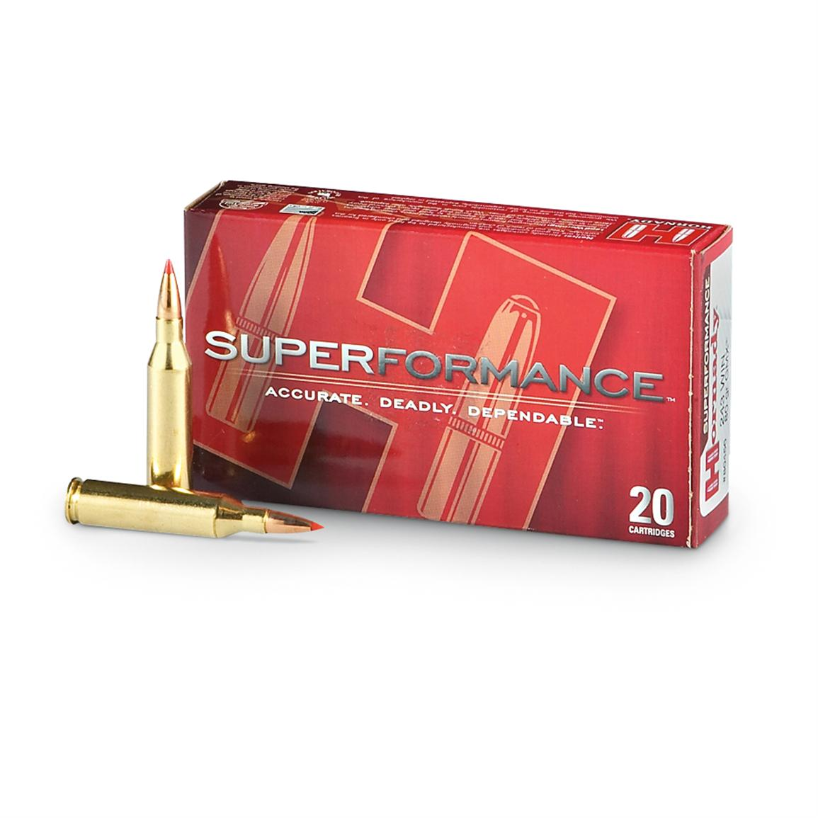Hornady Superformance,  243 Winchester, SST, 95 Grain, 20 Rounds