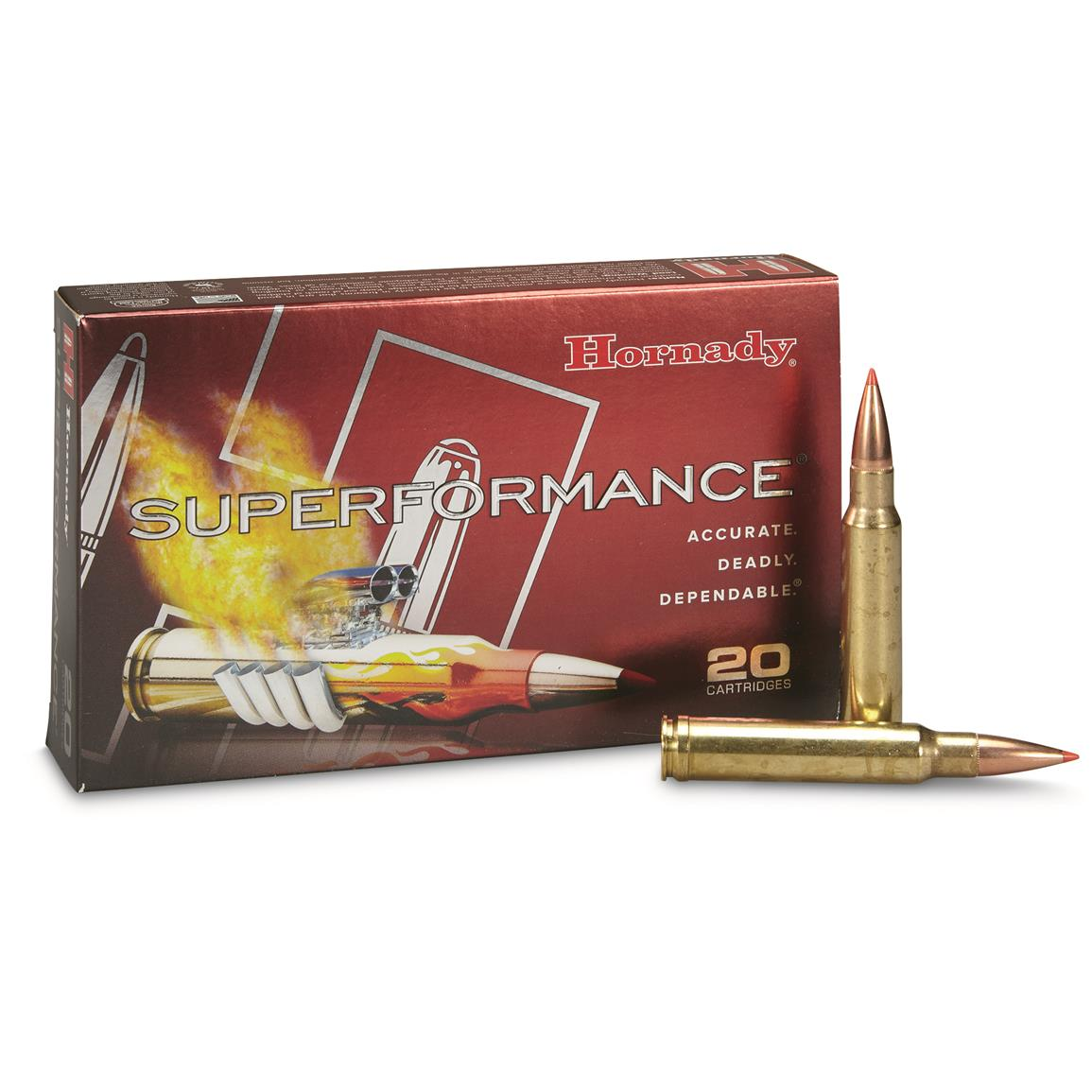 Hornady Superformance,  338 Winchester Magnum, SST, 225 Grain, 20 Rounds