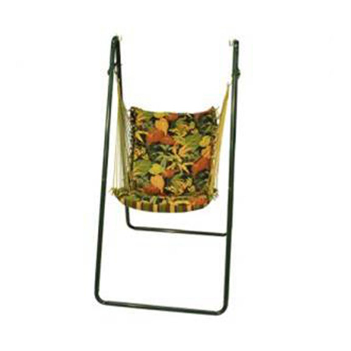 Algoma™ Swing Chair and Stand Combination, Midnight Print