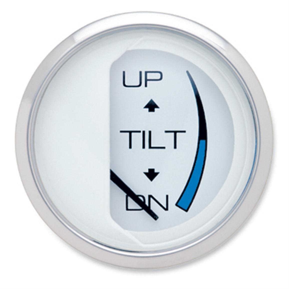 Tilt gauge / real-time battery gauge