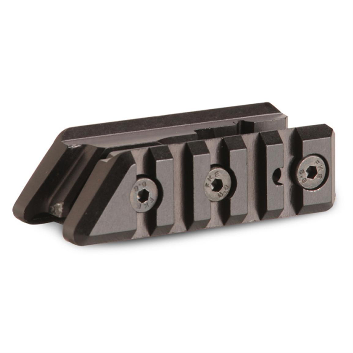 EMA® Polymer Side by Side Picatinny / Weaver Rails for Front Sight