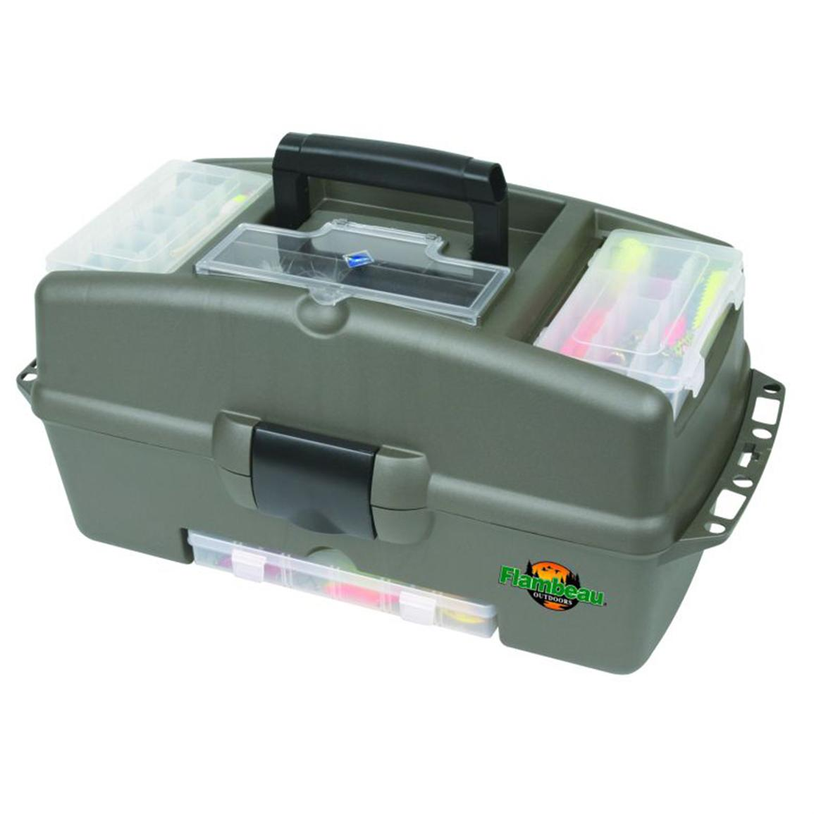 Flambeau Outdoors® 2-Tray Kwikdraw™ Tackle Box