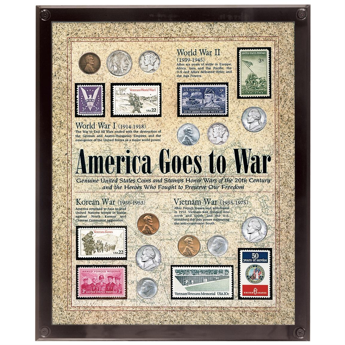 America Goes to War Coin Collection from Unified Precious Metals