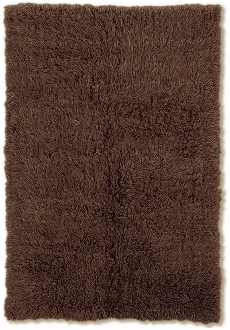 Linon Home Decor, Inc. Flokati Collection Rug, Cocoa