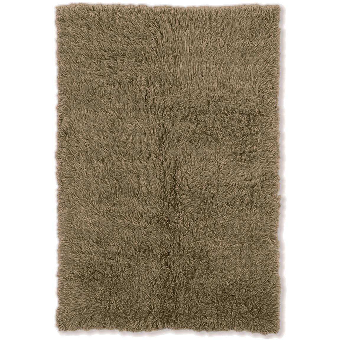 Linon Home Decor, Inc. Flokati Collection Rug, Mushroom