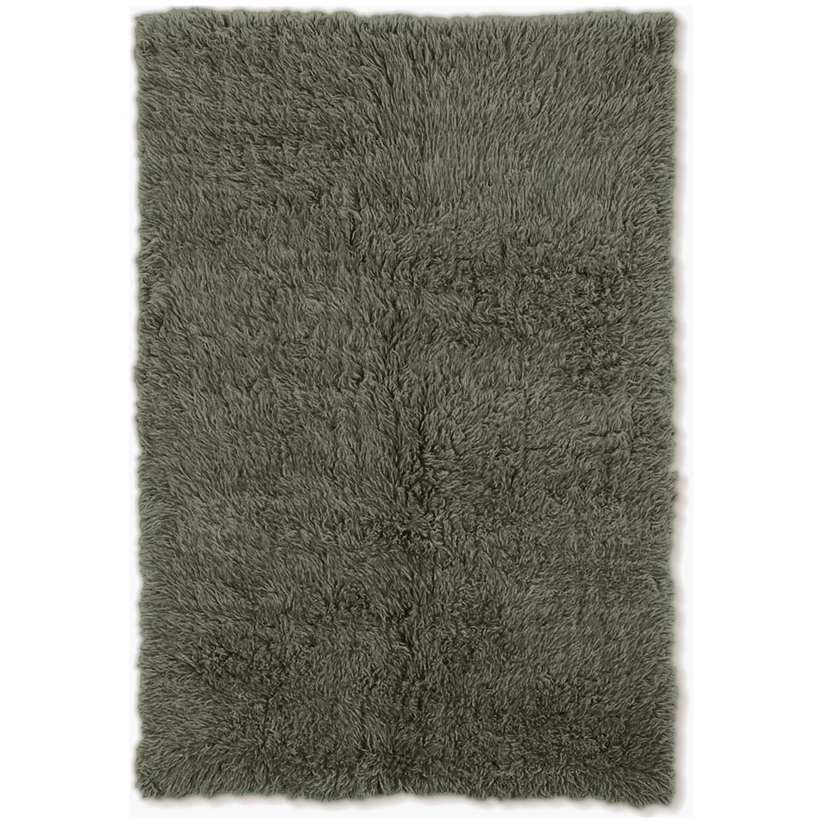 Linon Home Decor, Inc. Flokati Collection Rug, Olive