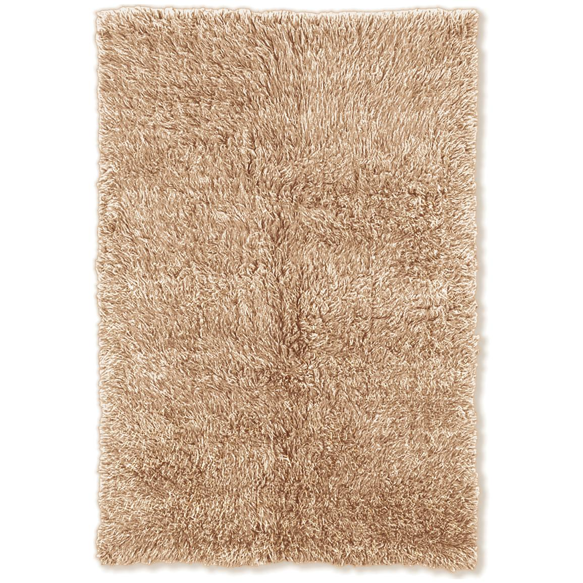 Linon Home Decor, Inc. Flokati Collection Rug, Tan