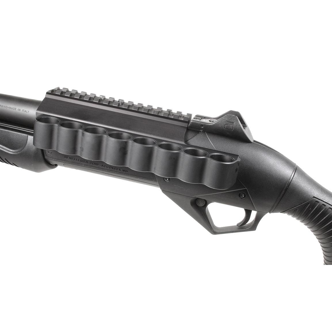 Mesa Tactical® SureShell™ 8-shell Carrier and Rail for 12-ga. Benelli® Supernova