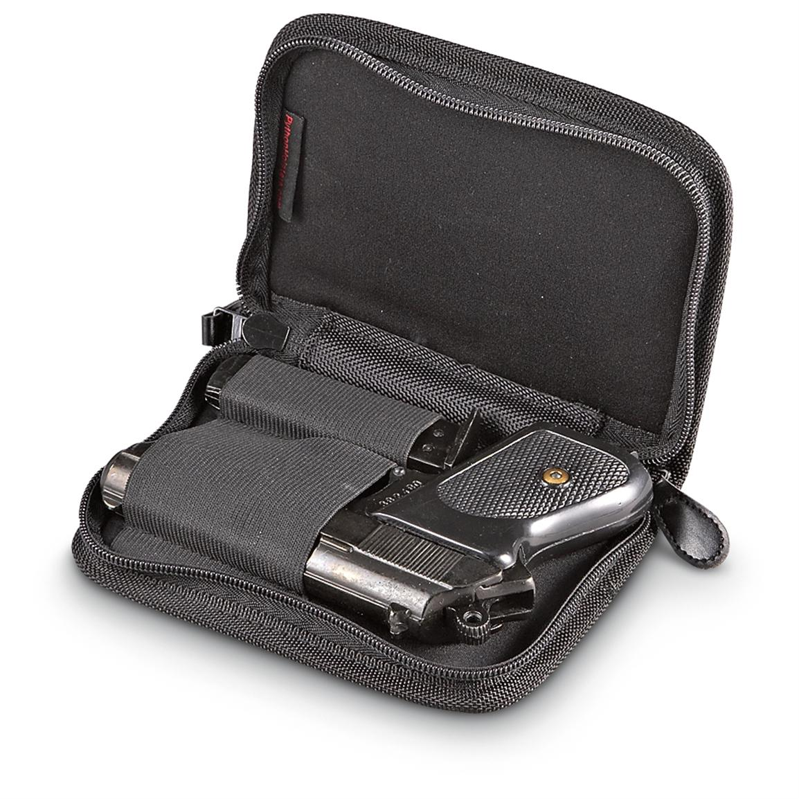 Packing Heat Compact Pistol Case