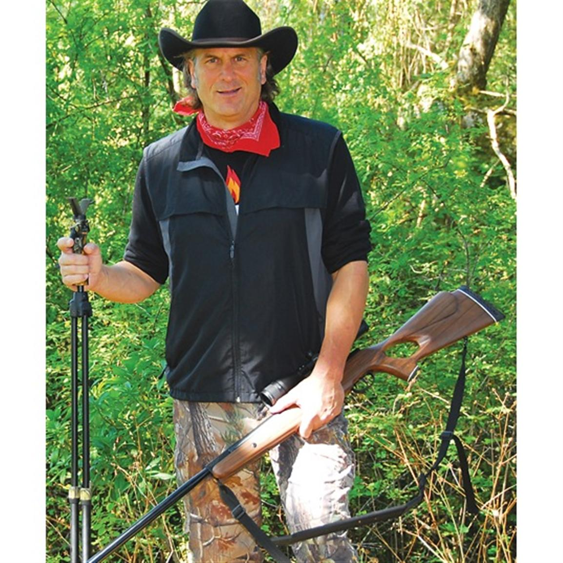 """Finally, a real hunting airgun with quiet knock-down power."" -- Jim Shockey, World-famous Professional Hunter"