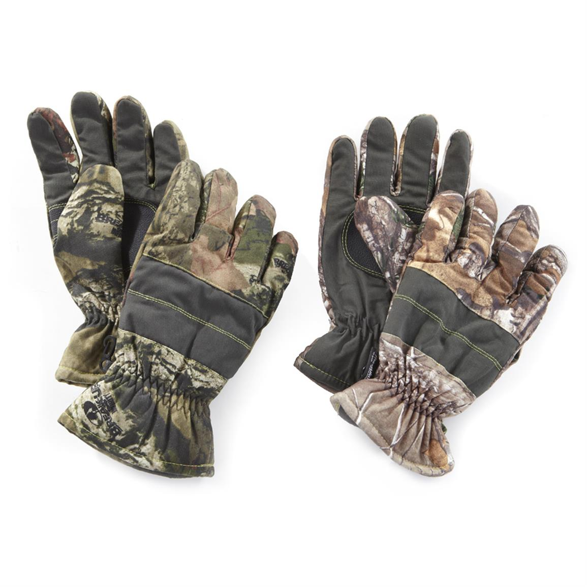 2-Pk. Hotshot Waterproof / Breathable 40 gram Thinsulate Gloves • From Left to Right: Mossy Oak Infinifty®  / Realtree Xtra®