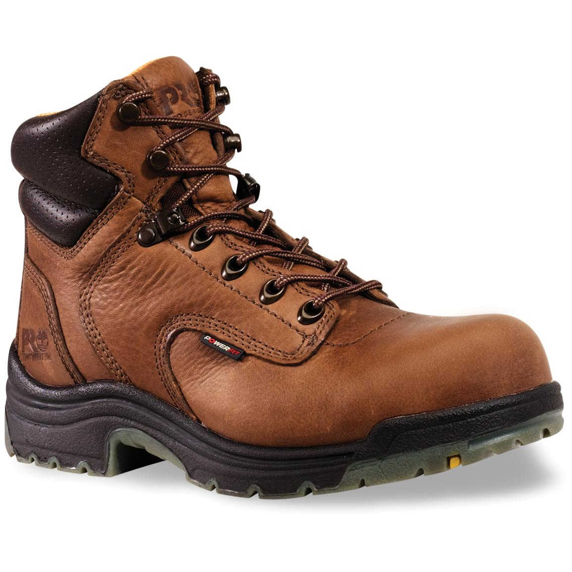 "Women's Timberland® Pro® 6"" Titan® Boots, Coffee"