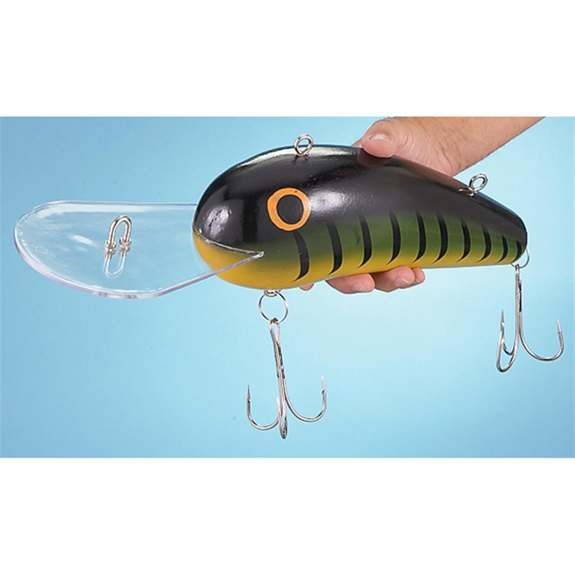 giant firetiger fishing lure 184382 gag unique gifts