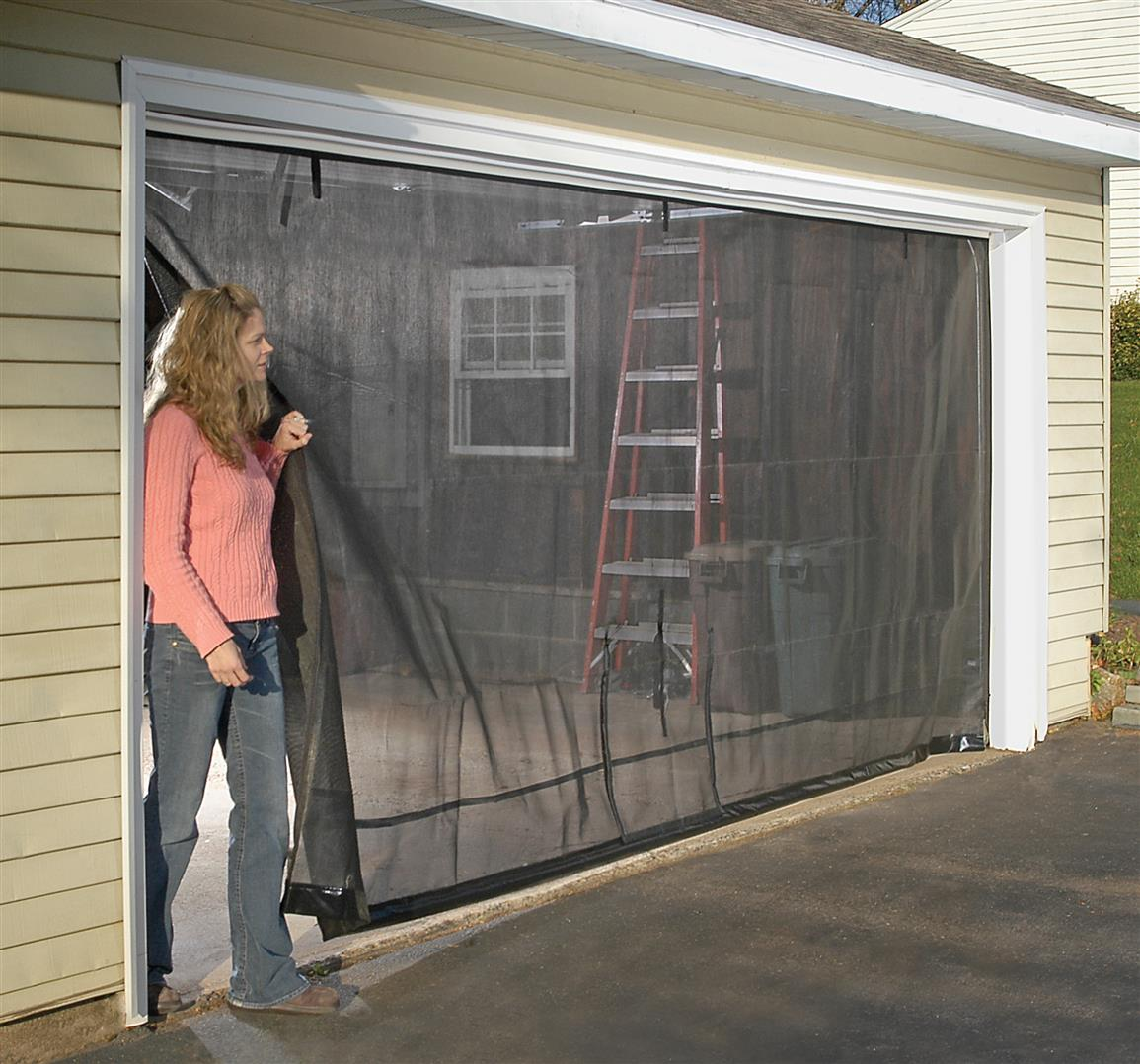 Shelterlogic 16x8 39 garage door screen 184889 pest for 16x8 garage door prices