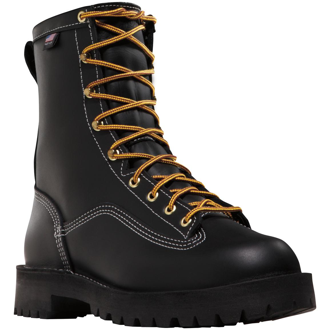 Men's 8 inch Danner® Super Rain Forest™ Plain Toe Work Boots