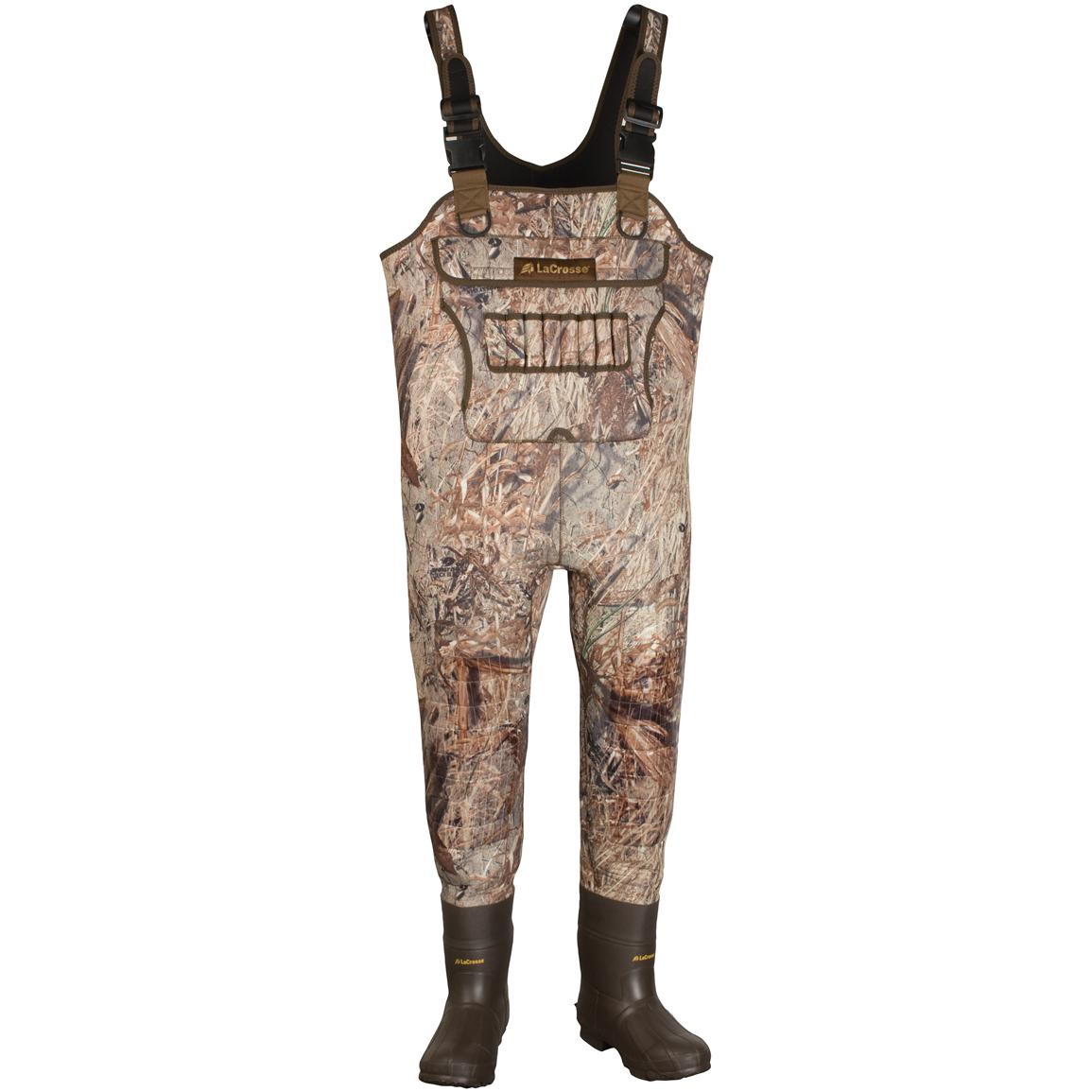 Men's LaCrosse® Brush-Tuff™ Mossy Oak® Duck Blind® 1,200 - gram Thinsulate™ Ultra Insulation Chest Waders