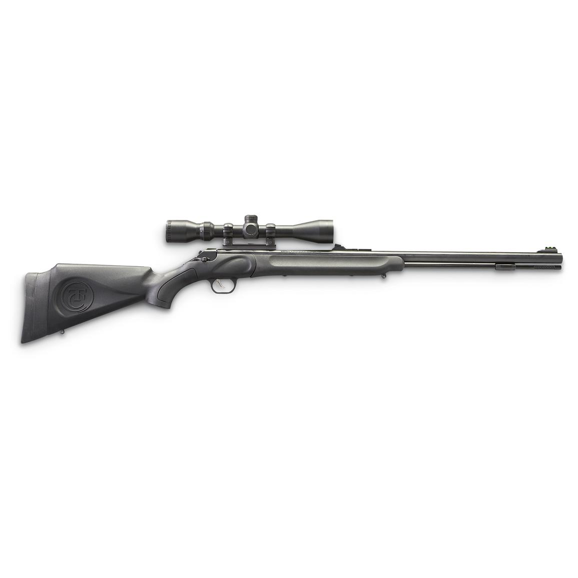 Thompson / Center Impact Blued Barrel .50 cal. Black Powder Rifle with 3-9x40 mm Scope
