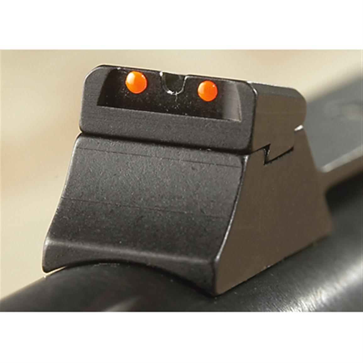 Precise fiber-optic sights