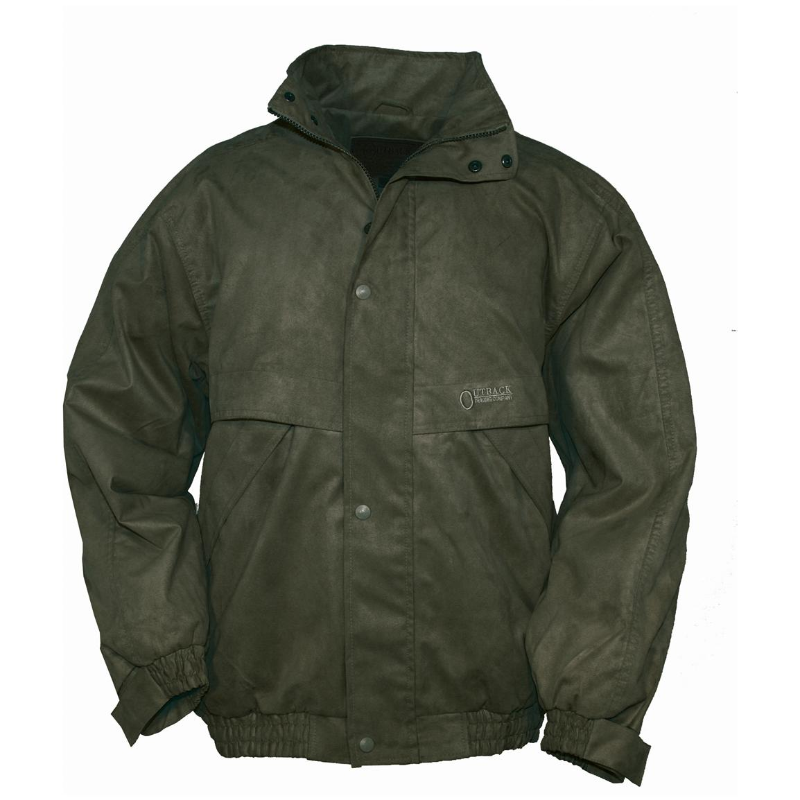 Men's Outback Trading Company® Rambler Jacket, New Zealand Green