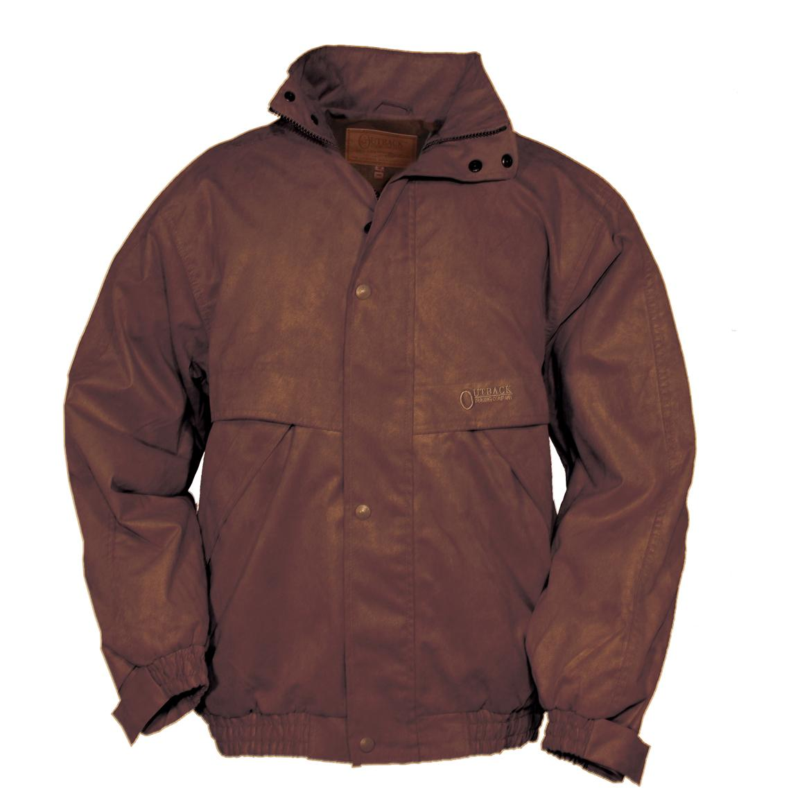 Men's Outback Trading Company® Rambler Jacket, Dark Brown