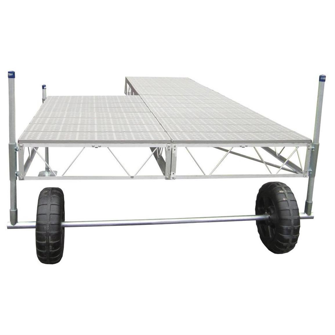 Patriot 32' Patio Roll-in Poly Dock Kit