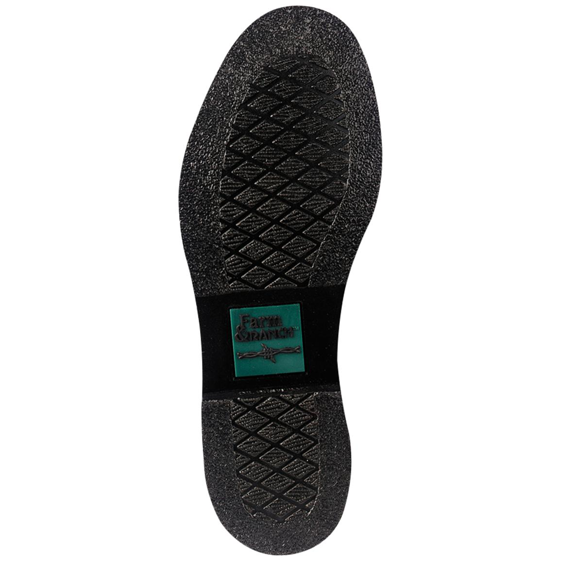 Proprietary oil-resistant X-10 rubber outsole for traction