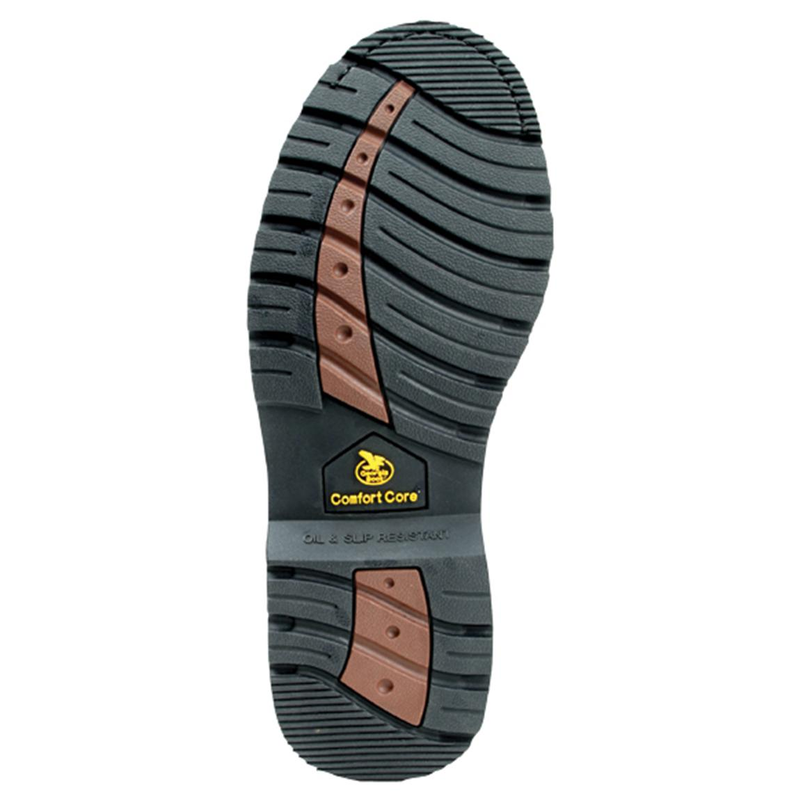 Oil, heat, slip-resistant hammer outsole