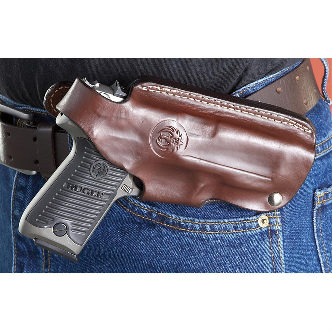 Ruger® 4-position Holster, Brown - 186317, Holsters at Sportsman's Guide