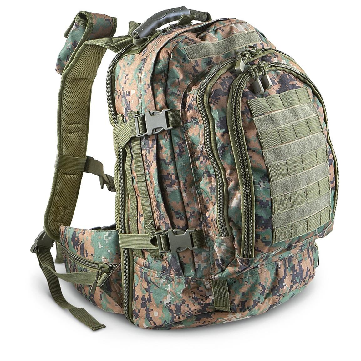 Fox Tactical™ Duty Pack, Digital Woodland